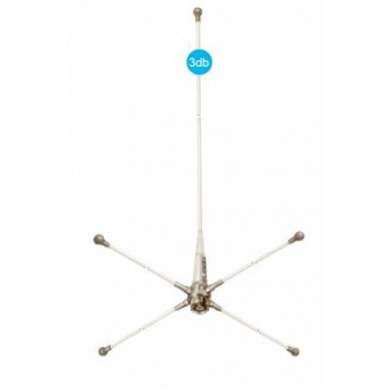 Antena VHF RA108 GRP conector