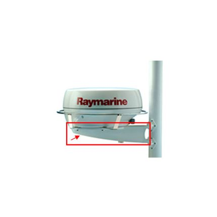 """Soporte para mástil para antena RAYMARINE, tipo radome de 24"""""""