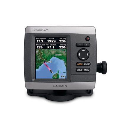 GPS/Plotter/Sonda GPSmap® 421S, 50/200khz, 500W. Con  transductor