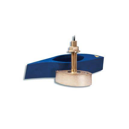 Transductor Pasacascos Garmin de bronce 50/200 KHZ de perfil bajo