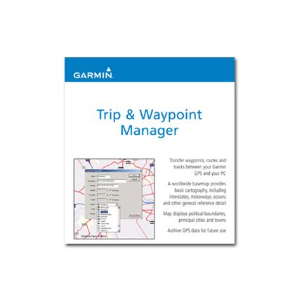 CD de software Trip & Waypoint compatible con GPS portátiles