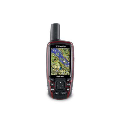 GPS Portátil Garmin GPSMAP 62STC
