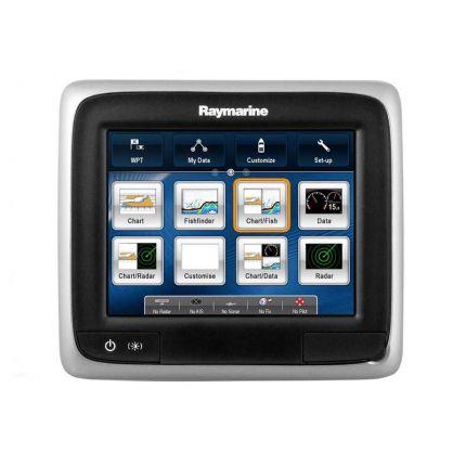 """Raymarine Display multifunción táctil a65 GPS/Plotter de 5,7"""" con Wifi (sin cartografía incluida)"""