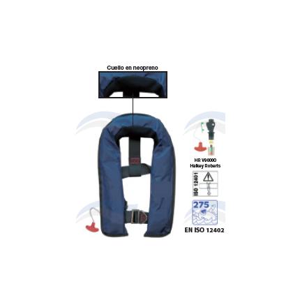 ATLANTIC 275N - Chaleco hinchable, automático y manual con arnés
