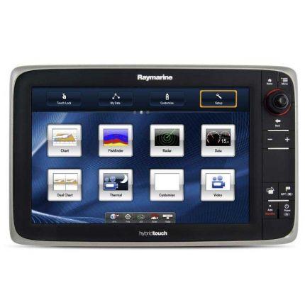 """Raymarine Display multifunción E125 12"""" con cartografía EU"""