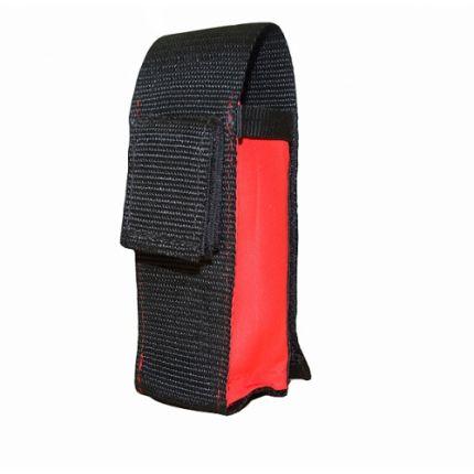 Cartuchera de utilidad para chalecos (color rojo y negro)