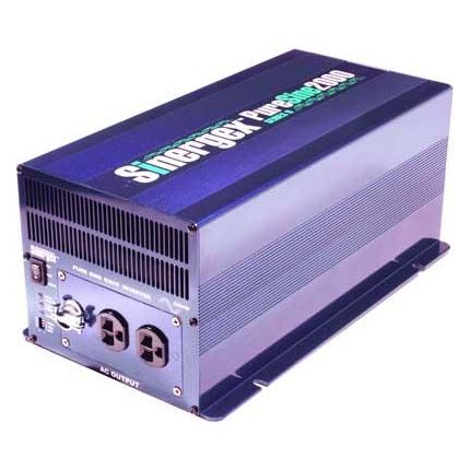 Convertidor 12VCC-220VCA, 2000W