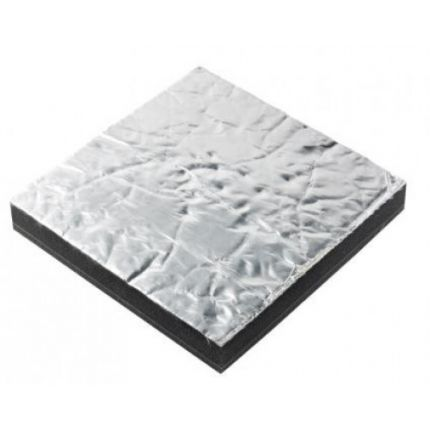 Aislamiento acústico Prometech simple, 45 mm, aluminio (600 x 1000 mm)