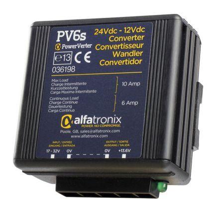 Convertidor CC-CC 24-12V, 6/10A