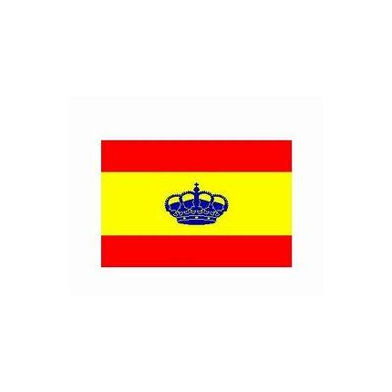 BANDERA ESPAÑA CON CORONA