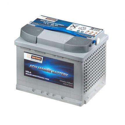 Bateria VETUS AGM, 12 V, 60 Ah