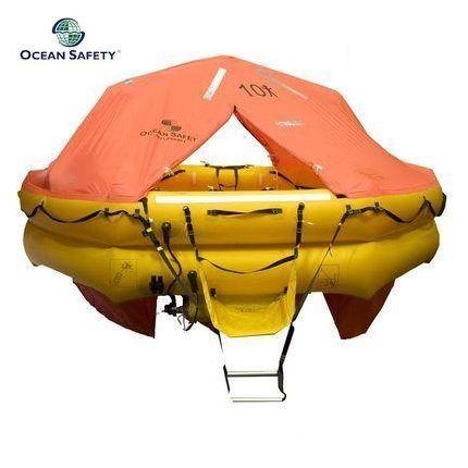 Balsa salvavidas (10 personas, 62kg, SOLAS B, canister)