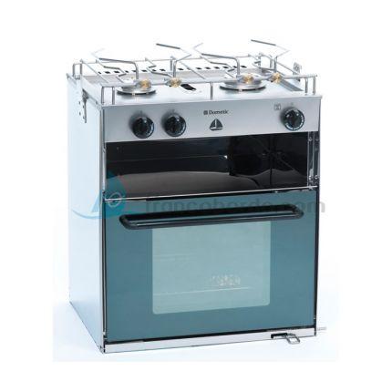 Cocina con 2 quemadores y horno con parrilla Starligh