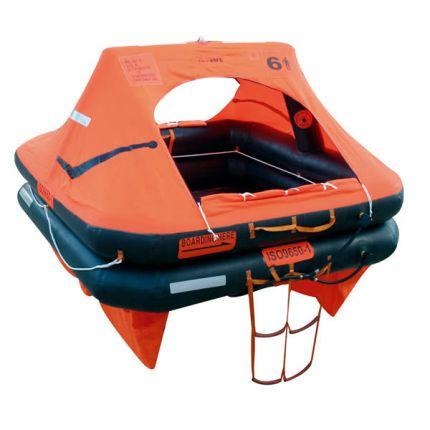 Balsa salvavidas (6 personas, 49kg, SOLAS B, canister)