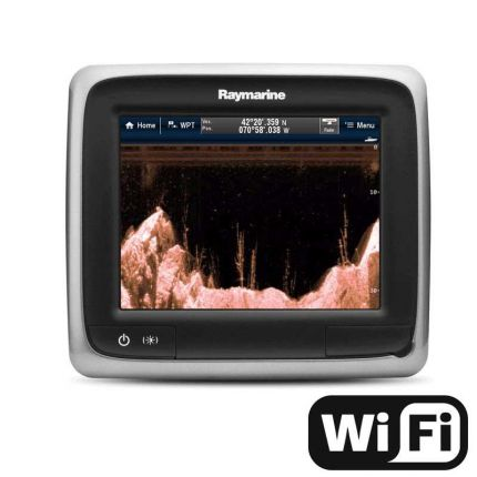 "Raymarine a68 - Display multifunción 5,7"" táctil; Downvision y Wifi"