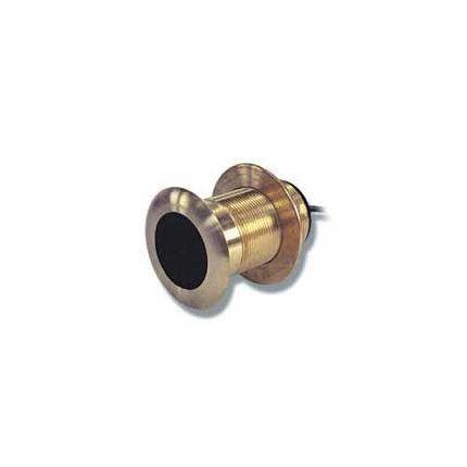 B22 - Transductor pasacascos de bronce, profundidad