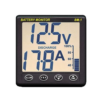 Instrumento medidor de consumos de batería BM-1