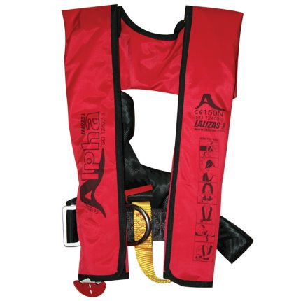CHALECO Alpha Inflatable Lifejacket 170N, ISO 12402-3