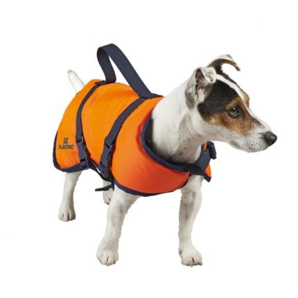 Chaleco Salvavidas para Mascota - Perro S Menos 8 kg Plastimo