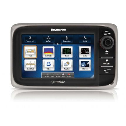 "Raymarine Display multifunción e7, 7"" sin cartografía"