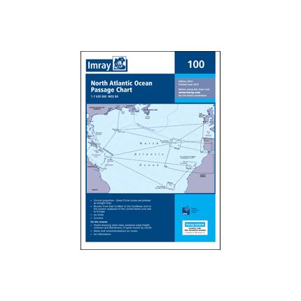 CARTA IMRAY 100 NORTH ATLANTIC OCEAN