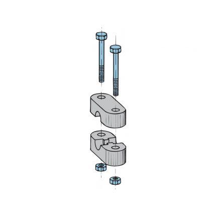 Abrazadera cable tipo 33 y LF