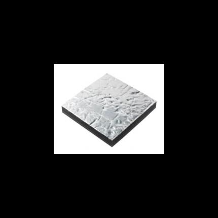 Aislamiento acústico Prometech simple, 12 mm, aluminio (600 x 1000 mm)