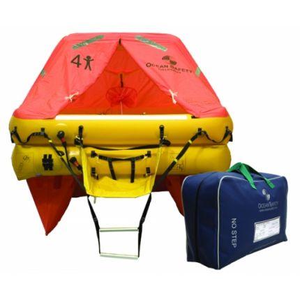 Balsa salvavidas (4 personas, 28kg,