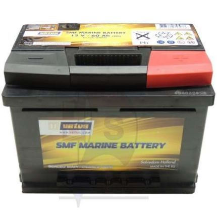 Bateria VETUS SMF sin mantenimiento, 12V, 125 Ah