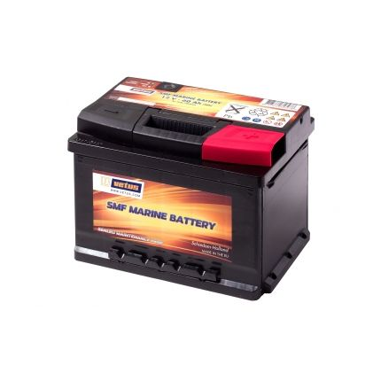 Batería Vetus sin mantenimiento,  60 AH