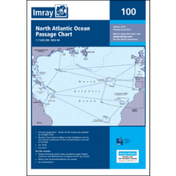 CARTA IMRAY 100 NORTH ATLANTIC OCEAN